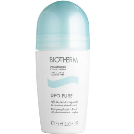Biotherm Deo Pure, Deodorant Roll-On, 75 ml
