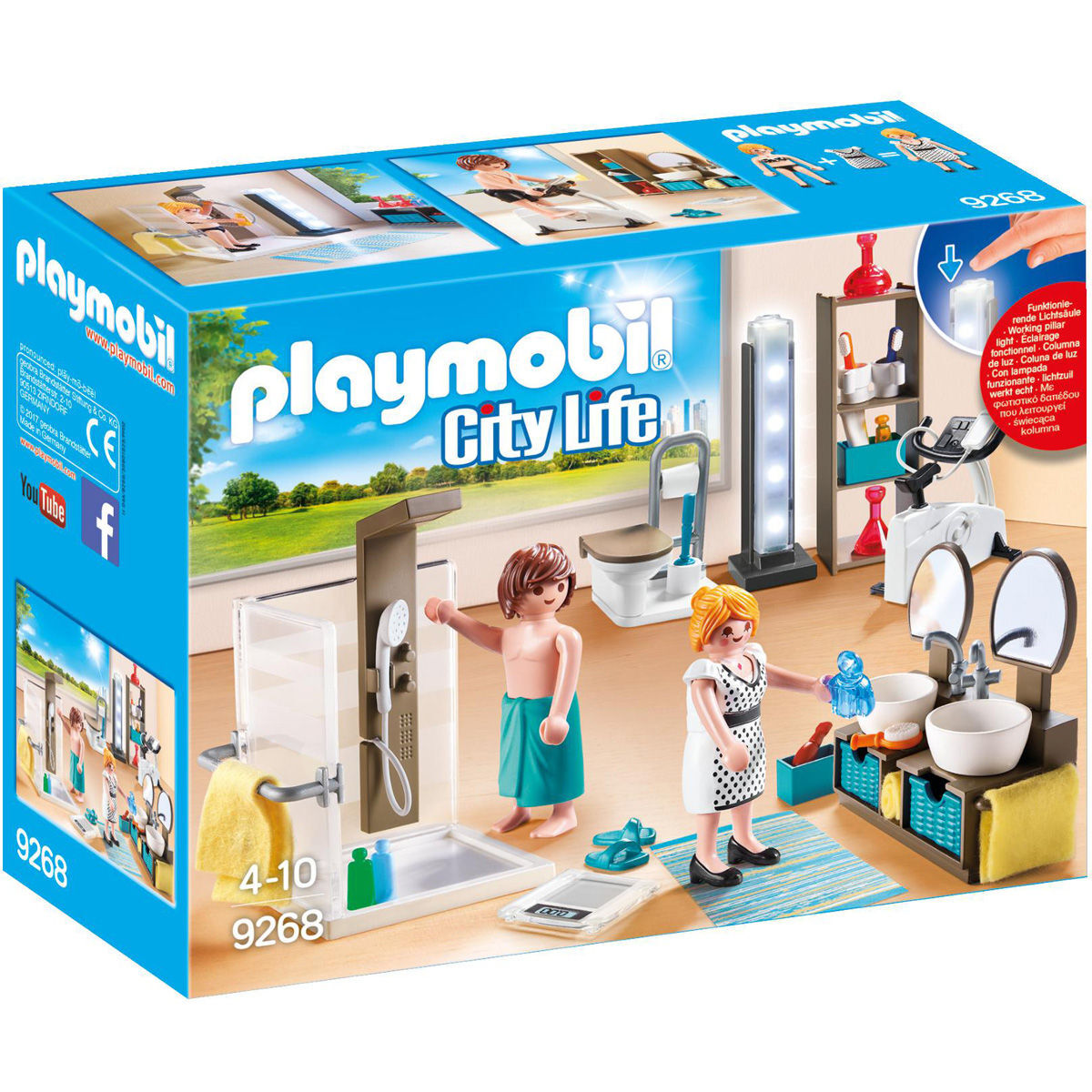 PLAYMOBIL® City Life Badezimmer 9268. Lädt... Pause. Current Time 0:00. /.  Duration Time 0:00. Remaining Time  0:00. Loaded: 0%. Progress: 0%
