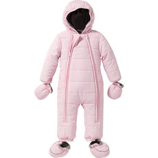 Kids and Friends Baby Schneeoverall, rosé