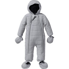 Kids and Friends Baby Schneeoverall, grau