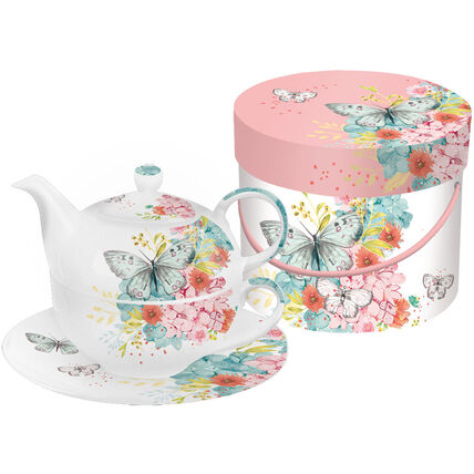 ppd Tea-4-one-Set Louise Butterfly