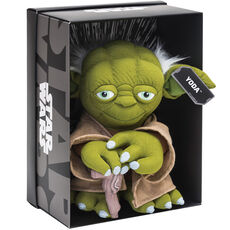 Joy Toy Star Wars Yoda Black Line Plüsch, 25 cm