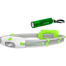 Led Lenser Set LED-Stirnlampe & LED-Taschenlampe K2 green & Neo green High Performance