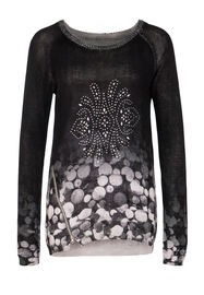 Million X Damen Pullover AURORA, black