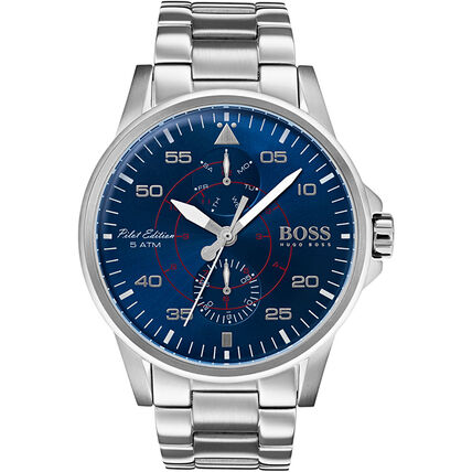 "Boss Watches Herren Multifunktionsuhr Aviator ""1513519"""