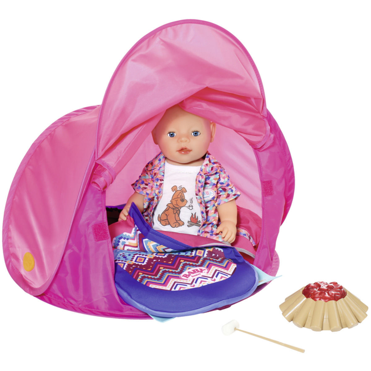 BABY born® Play & Fun Camping Set