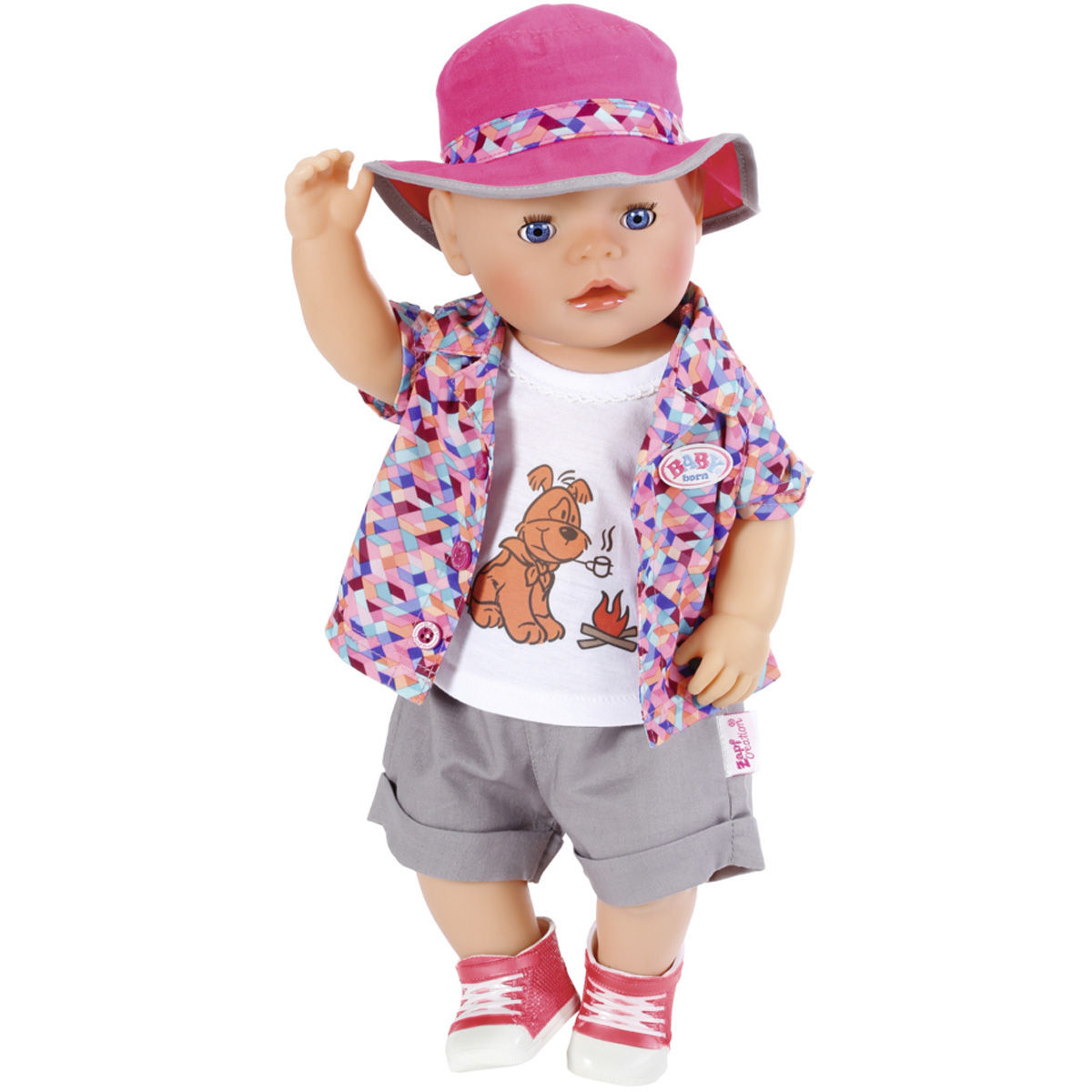 Zapf CreationR BABY BornR Play Fun Deluxe Camping Outfit LAdt Pause Current Time 000 Duration Remaining Loaded 0