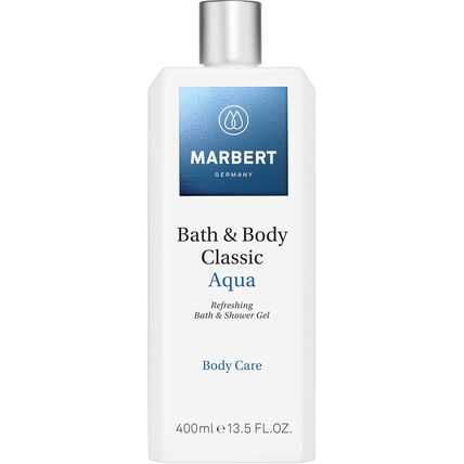Marbert Bath & Body Classic Aqua Bath & Showergel, 400 ml