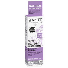 Sante Natural Lifting Power, Sofort glättende Tagescreme, Teekomplex & Parakresse, 30 ml