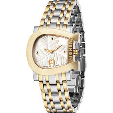 "Aigner Damenuhr Genua due Flower ""A31655"""