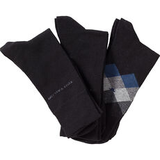 Tom Tailor Herren Socken, 3er Pack, Argyle-Muster