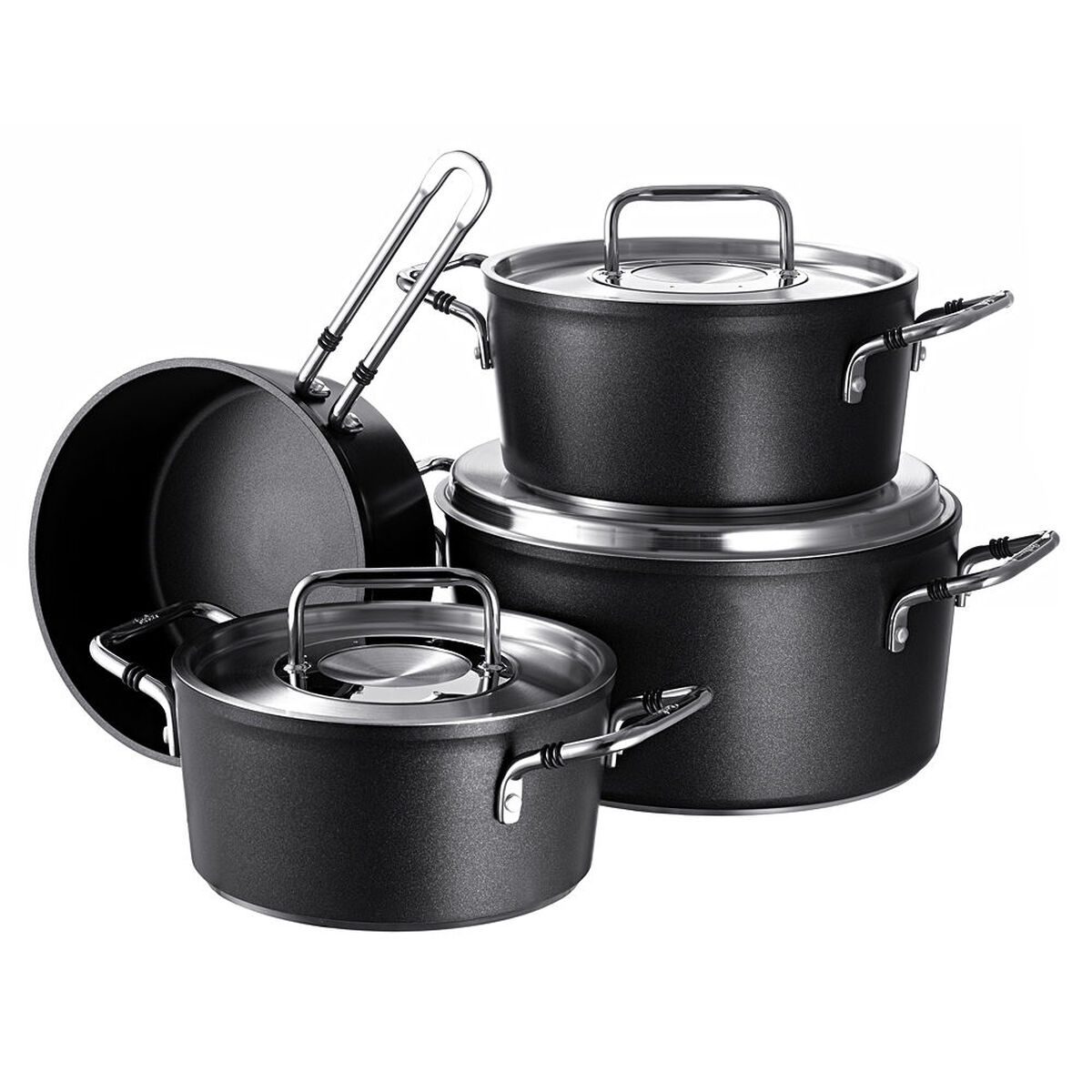 fissler topf set luno 4 teilig karstadt online shop. Black Bedroom Furniture Sets. Home Design Ideas