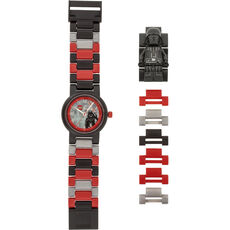 LEGO® Kinderuhr  8021018 Darth Vader™ Minifigure Link Watch, schwarz
