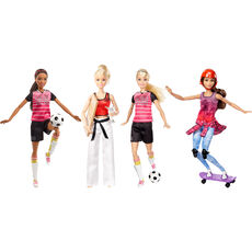 Barbie Made to Move Sportlerin