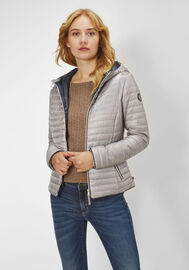 Redpoint Steppjacke mit Kapuze Paige, silver