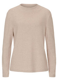 Betty & Co Strickpullover, Beige - Braun
