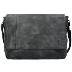 camel active Laos Messenger 40cm Laptopfach, schwarz