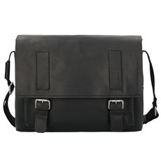 Strellson Turnham Messenger Leder 40cm Laptopfach, black