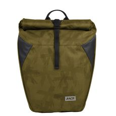 Aevor Rolltop Rucksack Backpack 48 cm, green  black