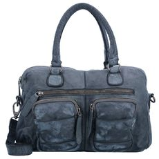 The Chesterfield Brand Julius Handtasche Leder 34 cm, anthracite