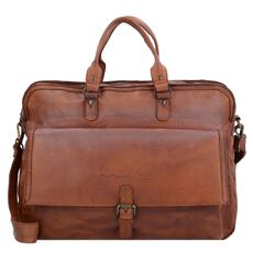 The Chesterfield Brand Johnny Laptoptasche Leder 45 cm Laptopfach, cognac