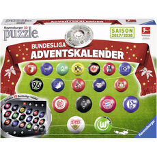 Ravensburger puzzleball® Adventskalender Bundesliga