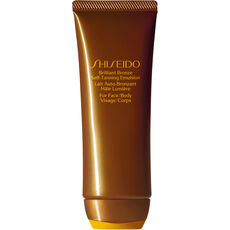 Shiseido Sun Care Brilliant Bronze Self-Tanning Emulsion, 100 ml