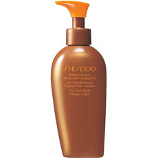 Shiseido Sun Care Brilliant Bronze Quick Self-Tanning Gel, 150 ml