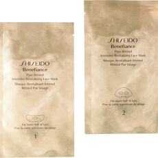 Shiseido Benefiance Pure Retinol Intensive Revitalizing Face Mask (4 Anwendungen)