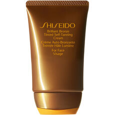 Shiseido Sun Care Brilliant Bronze Tinted Self-Tanning Cream, 50 ml, Medium Tan