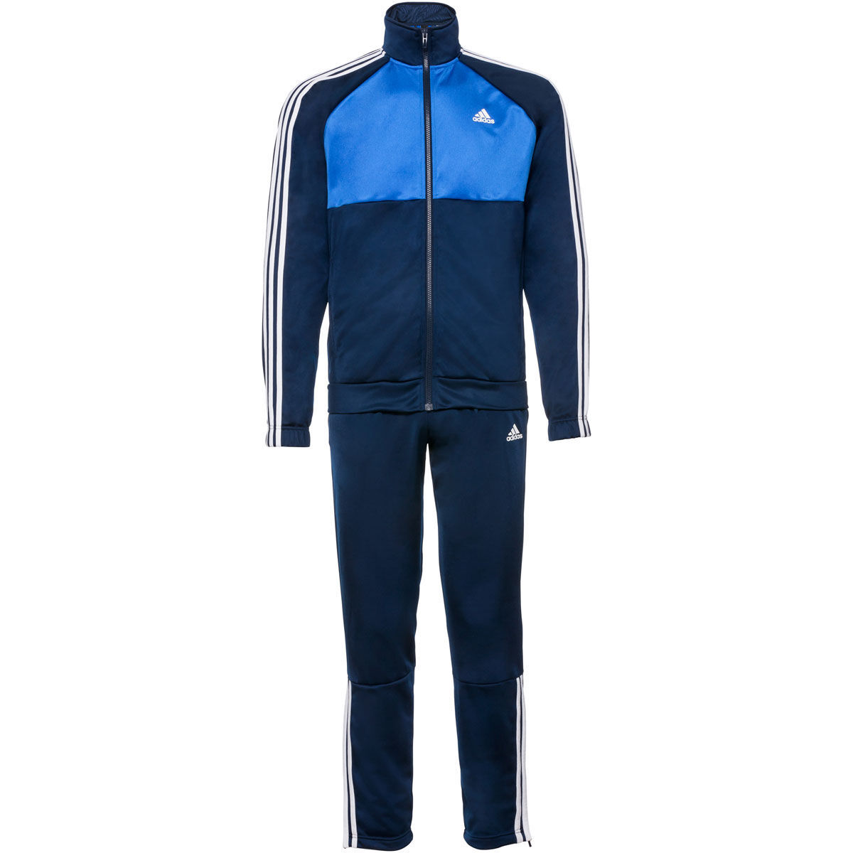 adidas herren trainingsanzug blau m karstadt online shop. Black Bedroom Furniture Sets. Home Design Ideas