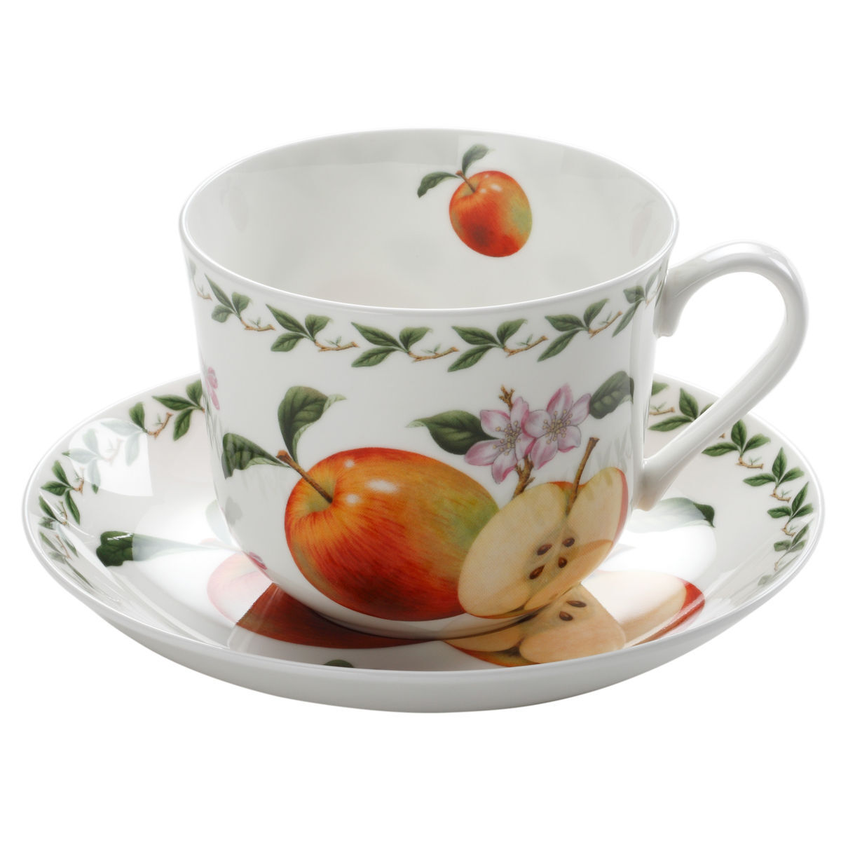 maxwell williams tasse mit untertasse orchard fruits. Black Bedroom Furniture Sets. Home Design Ideas
