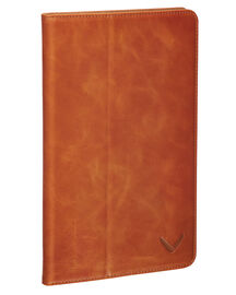 Packenger iPad Case Luxury Collection iPad Mini 4 Klapphülle mit Wake Up Funktion, Cognac