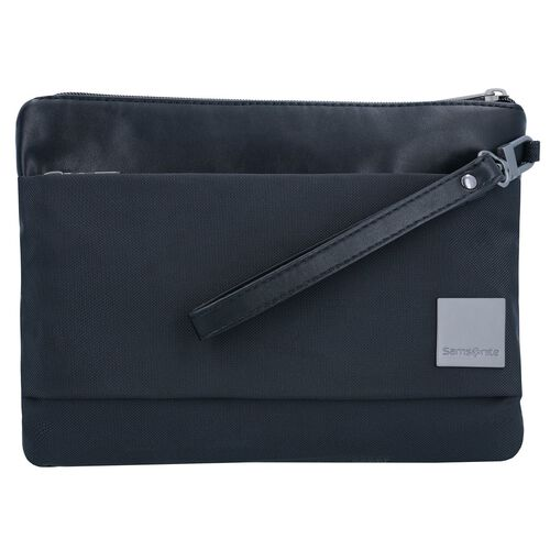 Samsonite Hip Spuare Clutch Tasche 25 cm, black