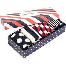 Happy Socks Socken-Geschenkbox, 4er Set