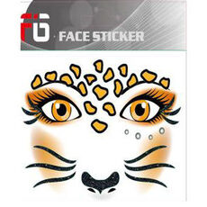 FIG Face Sticker -  Leopard