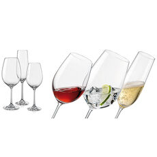 Bohemia Selection Kelchglas-Set, 18-teilig