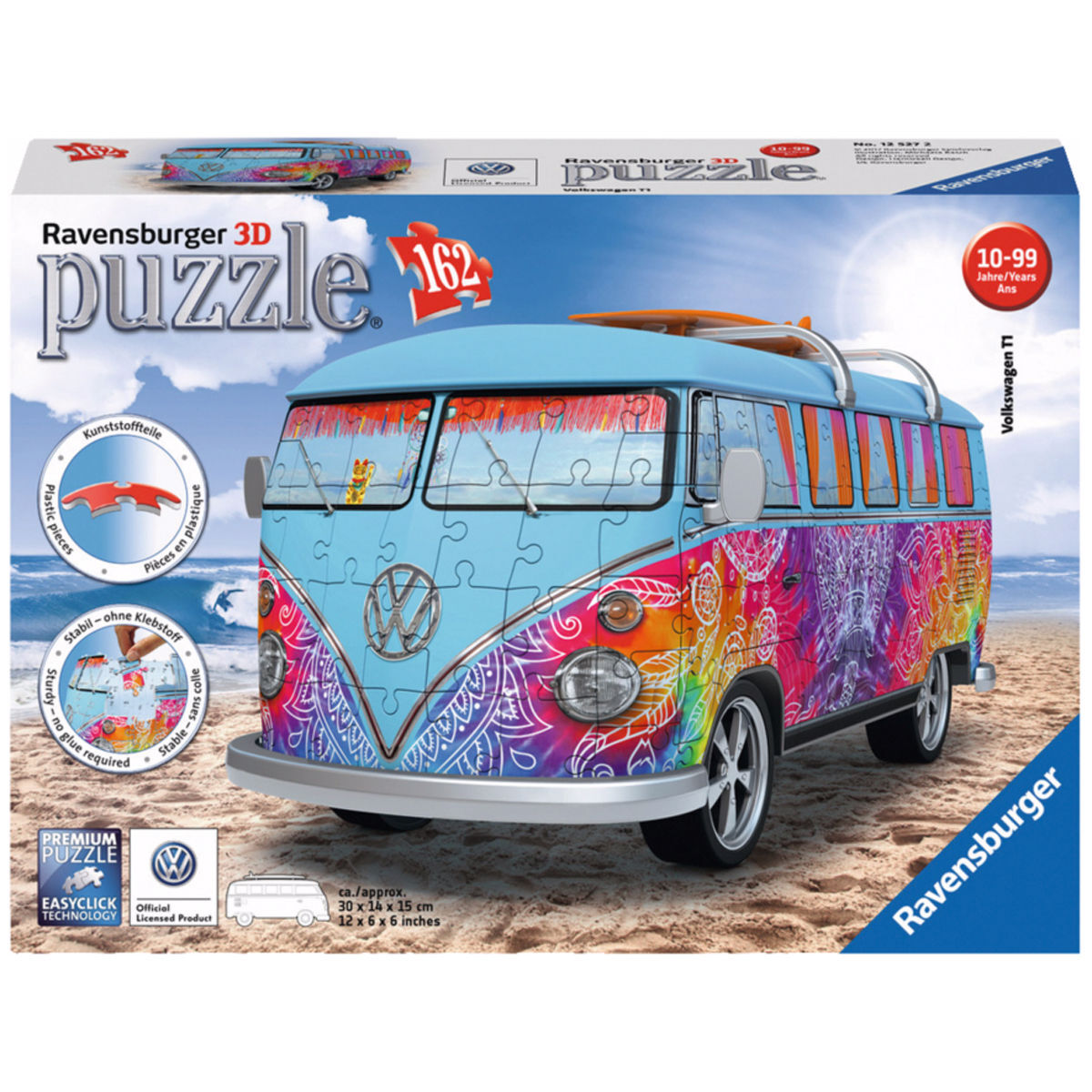 ravensburger 3d puzzle vw bus t1 indian summer karstadt. Black Bedroom Furniture Sets. Home Design Ideas