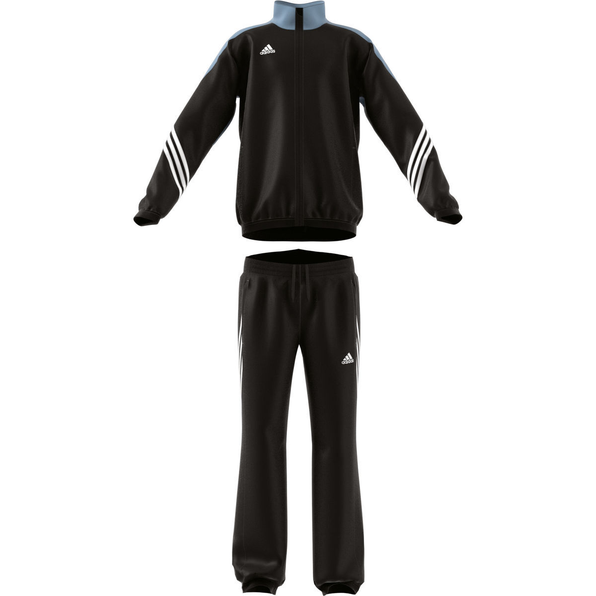 adidas jungen trainingsanzug sereno 14 pre suit schwarz 164 karstadt online shop. Black Bedroom Furniture Sets. Home Design Ideas