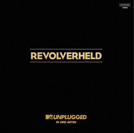 Sony Revolverheld - MTV Unplugged in drei Akten, Vinyl 2 LP's