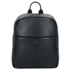 Joop! Cardona Miko Business Rucksack Leder 40 cm Laptopfach, black