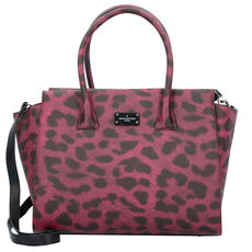 Pauls Boutique London Bethany Handtasche 32 cm, raspberry leopard