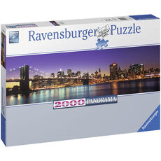Ravensburger Panorama Puzzle New York City, 2000 Teile