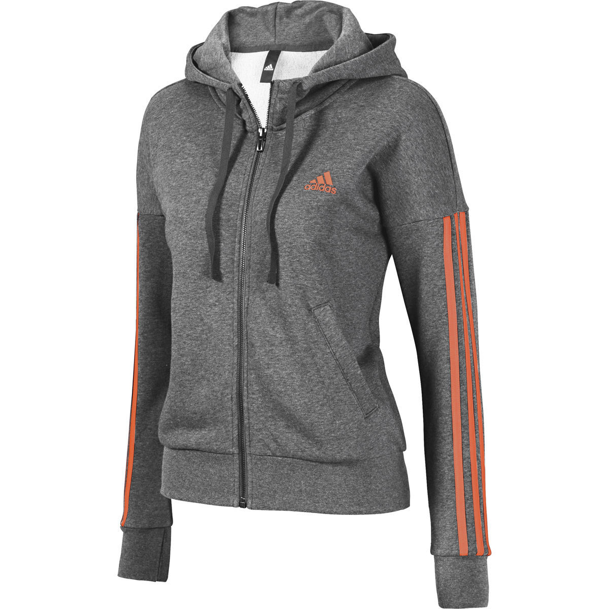 adidas Damen Kapuzenjacke French Terry
