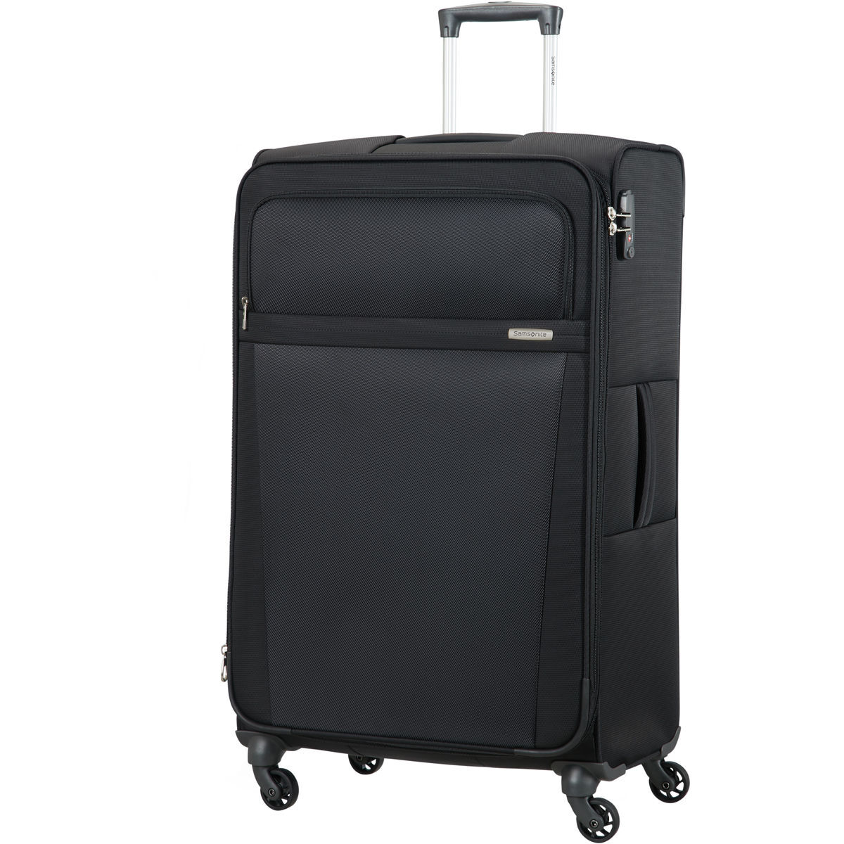 samsonite 4 rollen trolley acure 75 cm schwarz 75 karstadt online shop. Black Bedroom Furniture Sets. Home Design Ideas