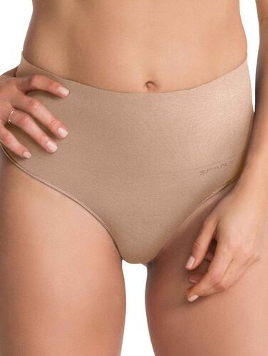 Spanx Shaping-String, soft nude, beige, XL