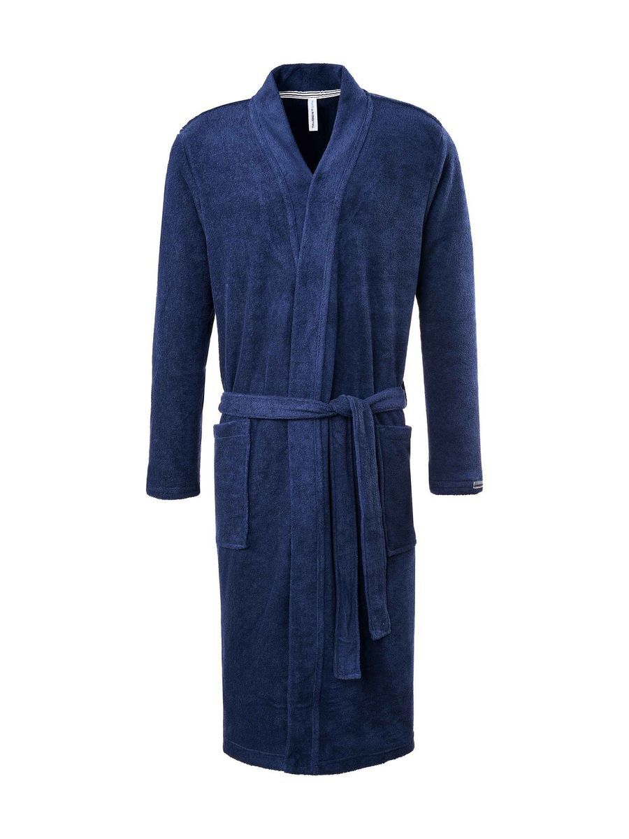 taubert frottee bademantel kimono l nge 120cm navy blau navy 50 karstadt online shop. Black Bedroom Furniture Sets. Home Design Ideas