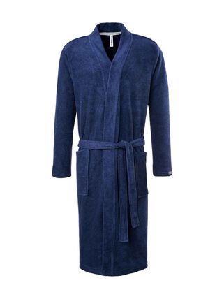 taubert frottee bademantel kimono l nge 120cm navy blau karstadt online shop. Black Bedroom Furniture Sets. Home Design Ideas
