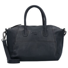 The Chesterfield Brand Trendy Handtasche Leder 25 cm, black