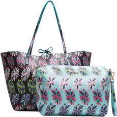 Desigual Damen Wendeshopper mit Bag in Bag